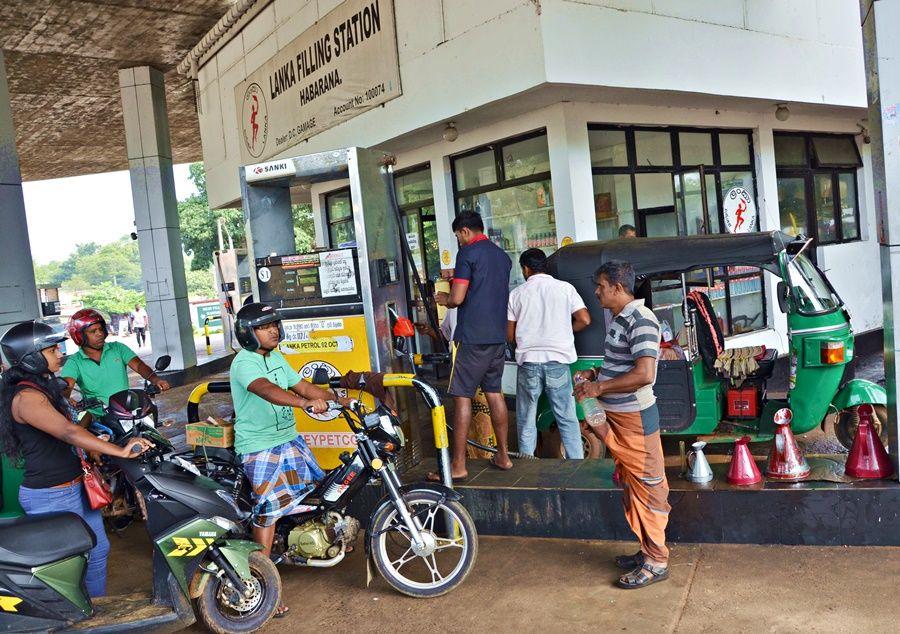 Srí lanka benzín