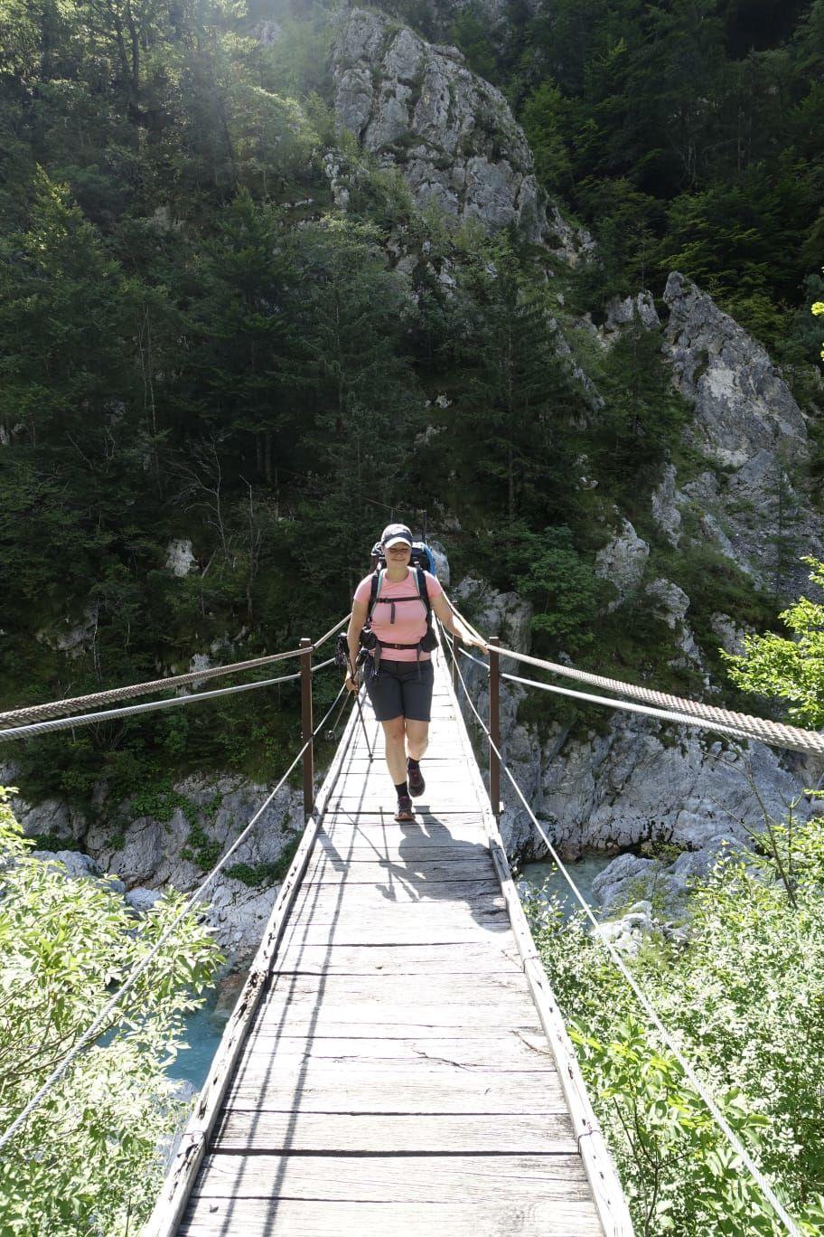 trek přes Alpy