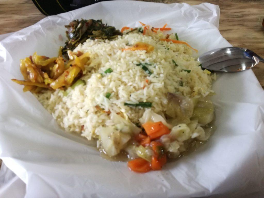 Srí Lanka - jídlo